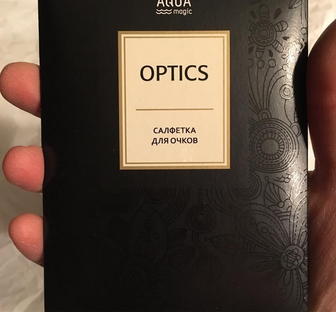 Cалфетка для очков AQUAmagic OPTICS
